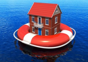 Home above water